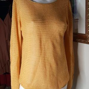 Tahari new linen sweater